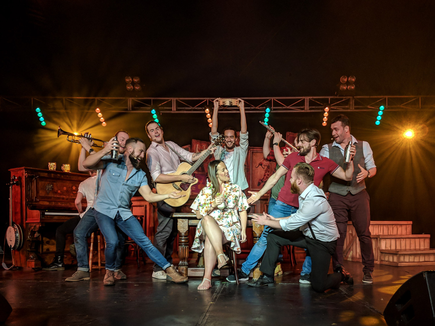 BWW Interview: THE CHOIR OF MAN'S  Denis Grindel Raises a Glass to Ireland, Friendship, and Manhood in Advance of DPAC Show