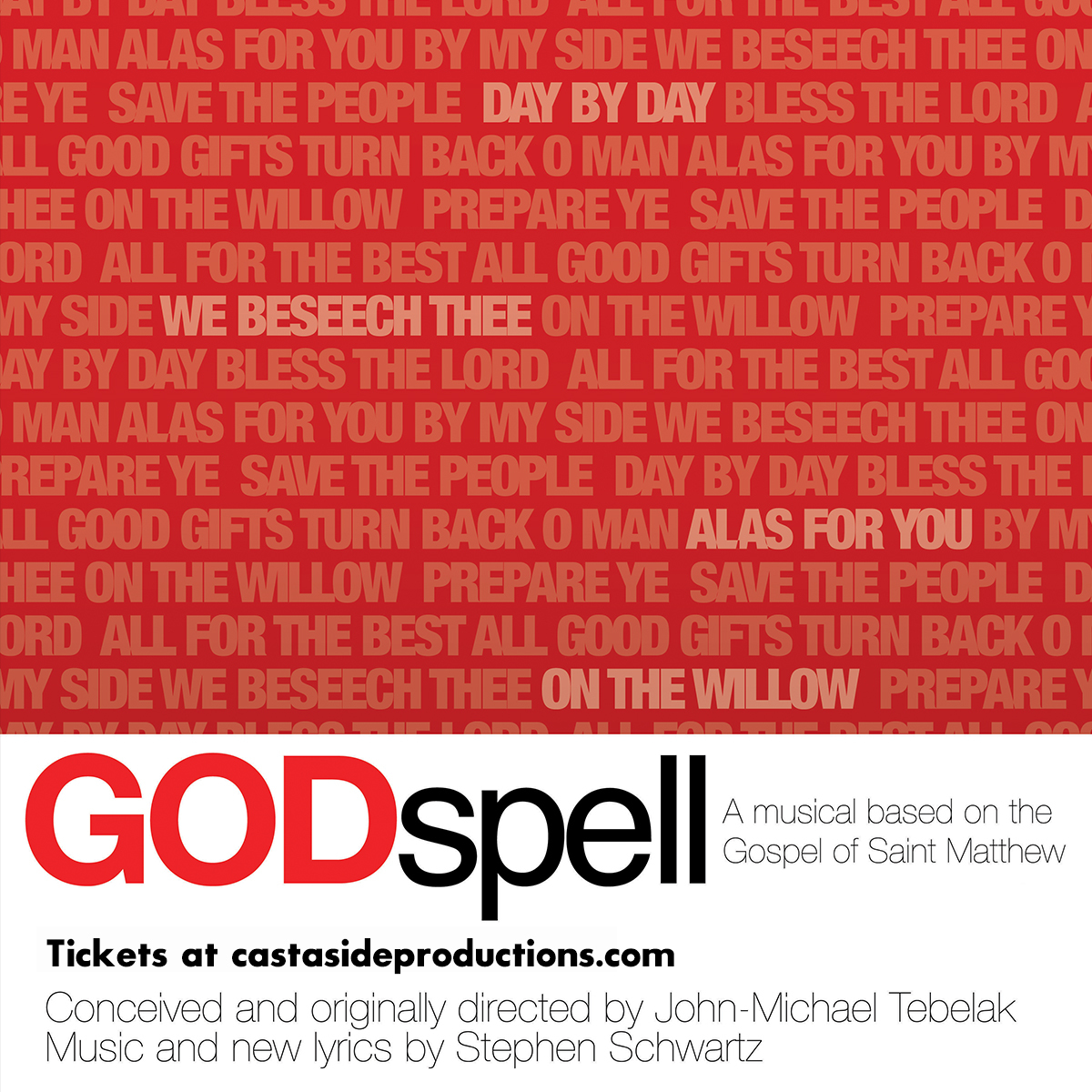 Cast Aside Productions Presents GODSPELL In Portland