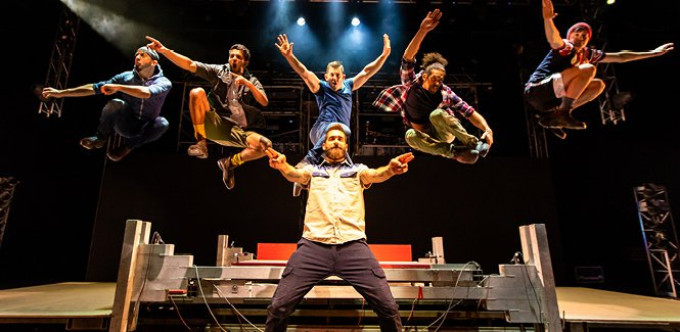 BWW Review: Show-Stopping, Explosive Tap Numbers, And The Feeling Of Having A Beer With Friends Make Up TAPDOGS at Straz Center For The Performing Arts
