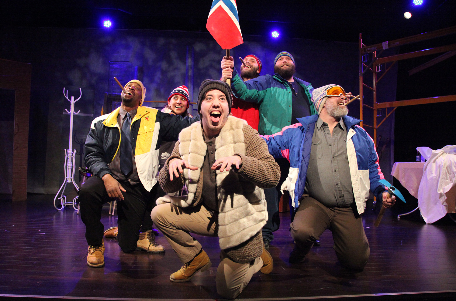 BWW Review: THE CONQUEST OF THE SOUTH POLE at Snowlion Repertory Company