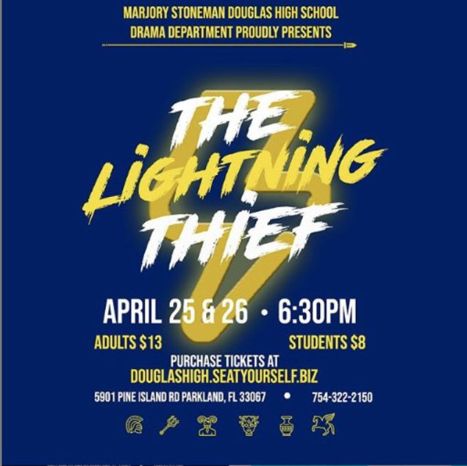 Half-Bloods Unite! Marjory Stoneman Douglas High School Presents Concert Staging of THE LIGHTNING THIEF: THE PERCY JACKSON MUSICAL
