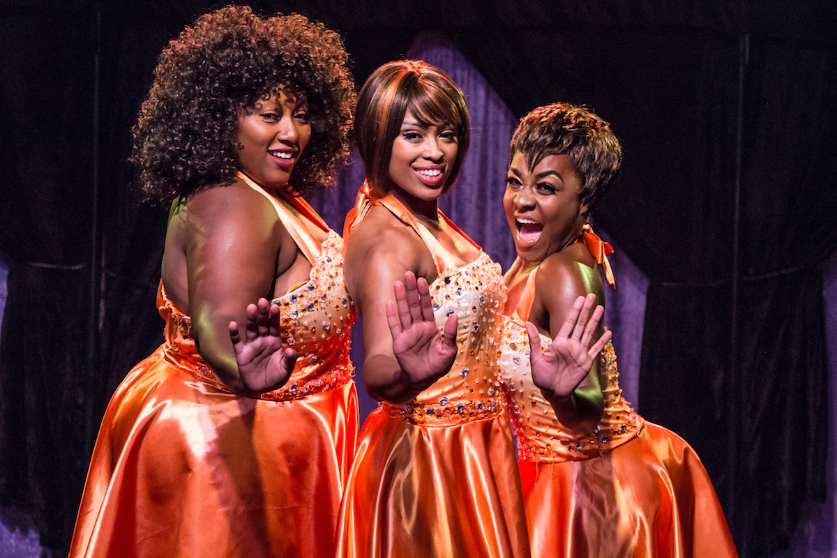 BWW Review: No Sleepin' on the Job in DREAMGIRLS  at The Cupcake Theater