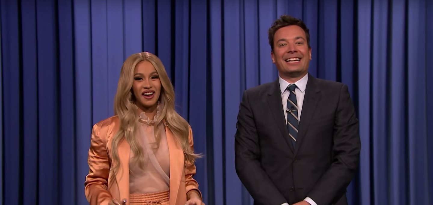 VIDEOS: Cardi B Co-Hosts THE TONIGHT SHOW STARRING JIMMY ...