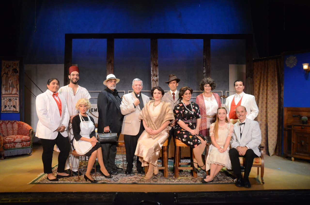 BWW Review: Desert Theatreworks Delivers a Very Stylish MURDER ON THE NILE