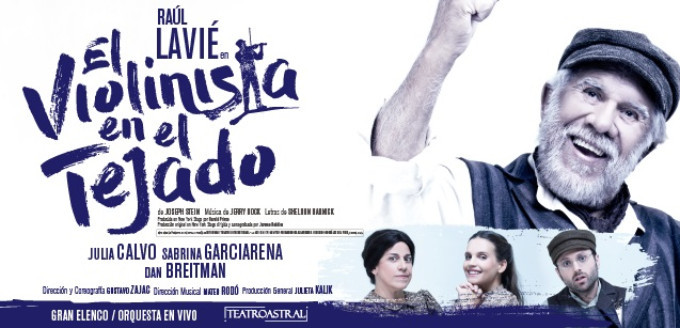 BWW Review: EL VIOLINISTA EN EL TEJADO / FIDDLER ON THE ROOF at Teatro Astral