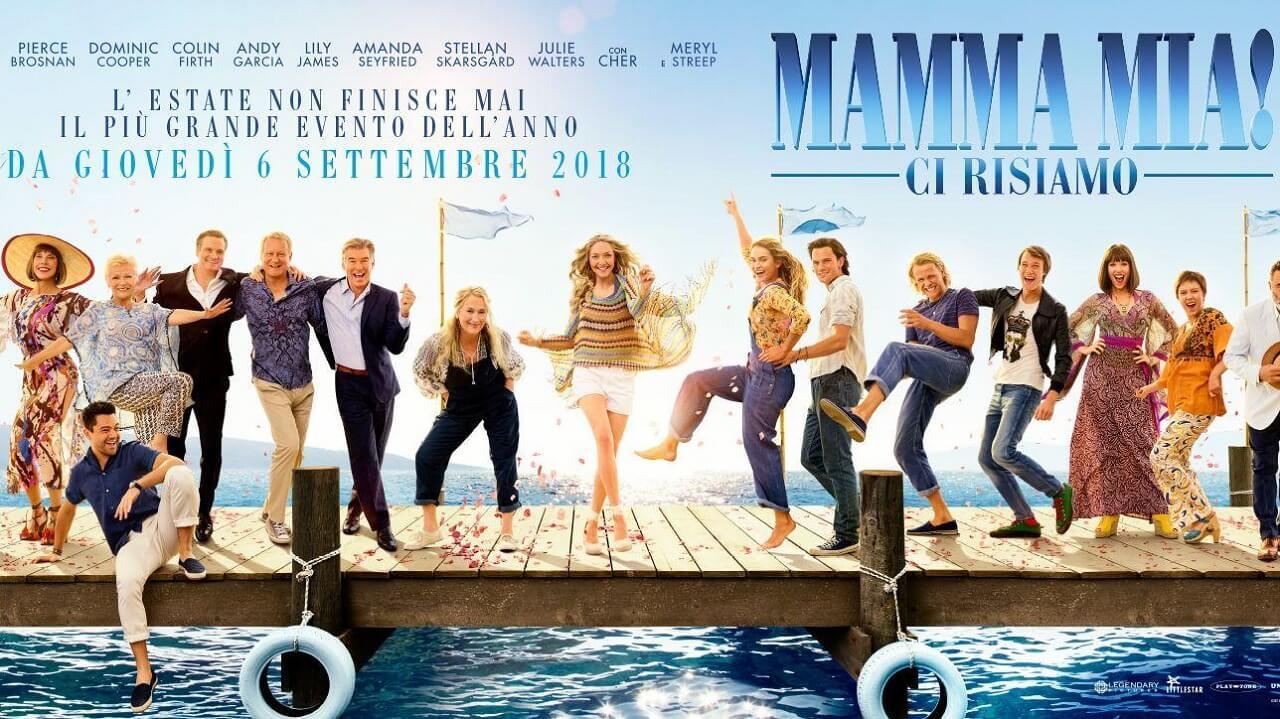 BWW Review: 5 MOTIVI PER VEDERE MAMMA MIA! CI RISIAMO!