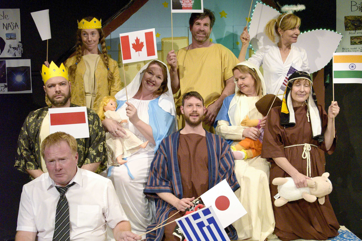Home Lottery Adelaide >> BWW Review: THE FLINT STREET NATIVITY at Holden Street Theatres The Studio