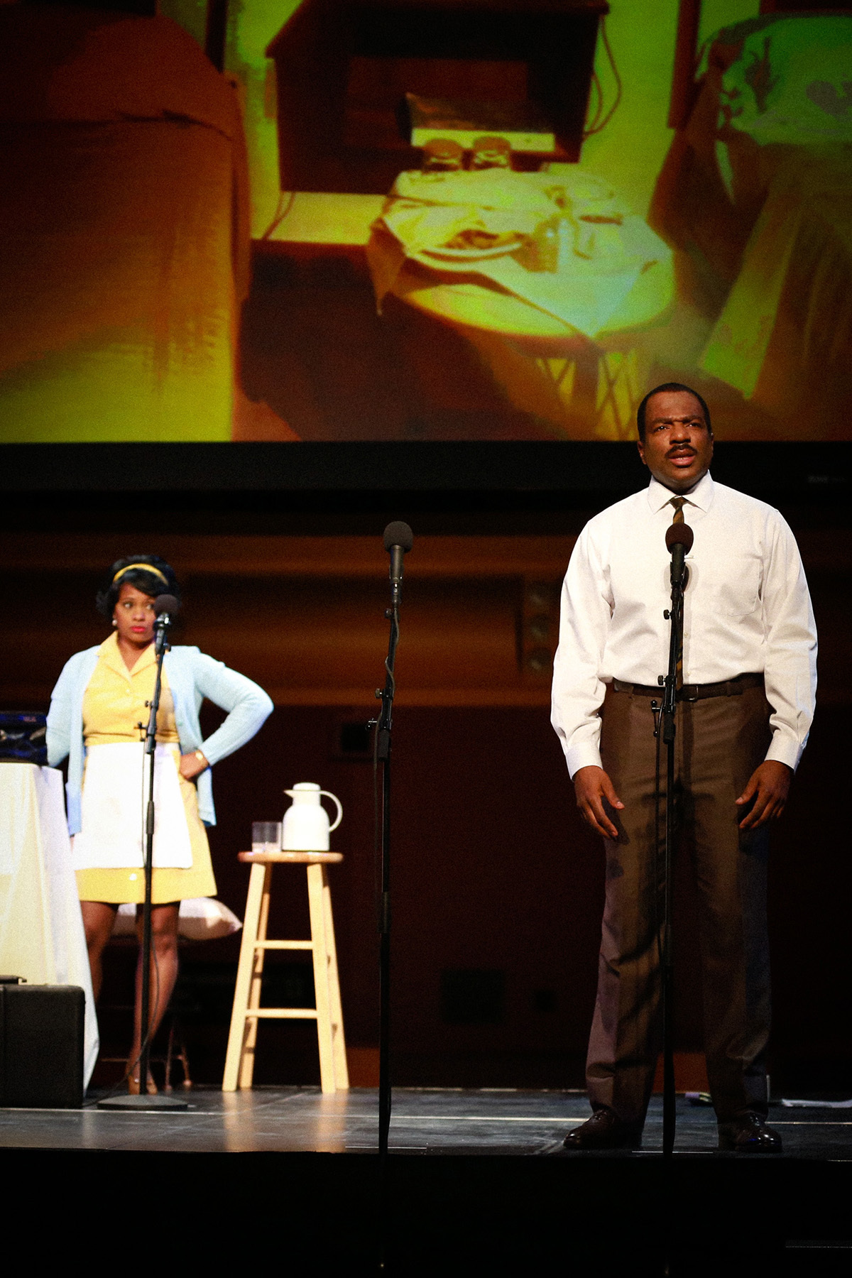 BWW Review: L.A. Theatre Works's THE MOUNTAINTOP Climbs to New Heights at George Mason University