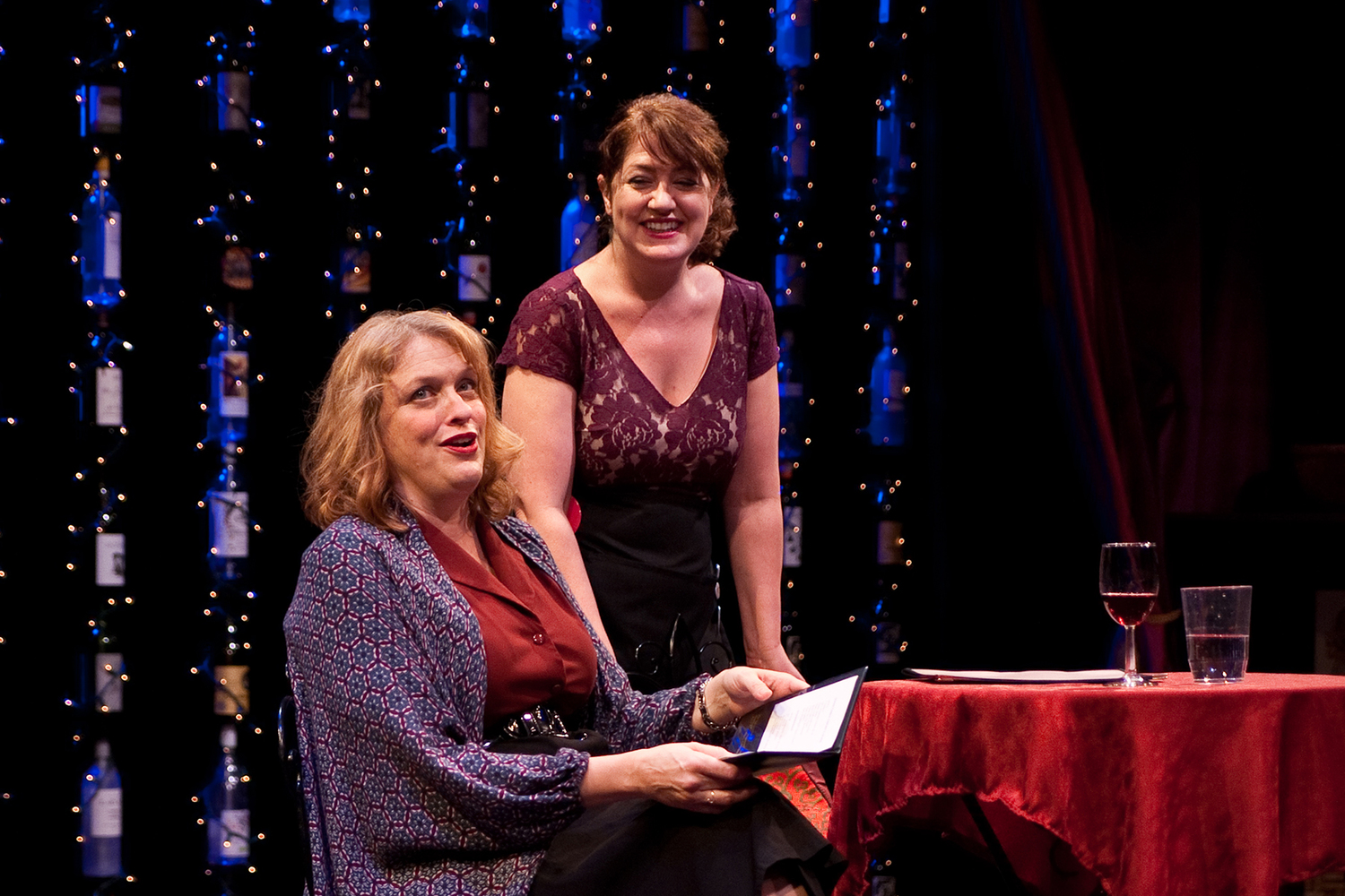 BWW Review: SOMETIMES THERE'S WINE at Park Square Theatre