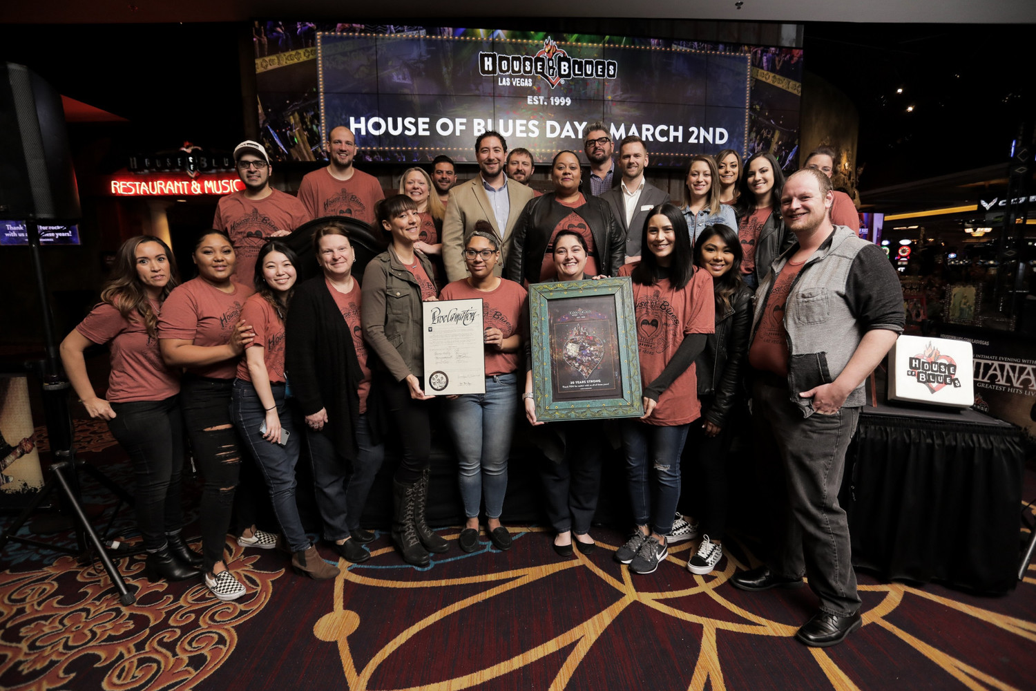 BWW Feature: 20TH ANNIVERSARY CELEBRATION at House Of Blues Las Vegas in Mandalay Bay Resort And Casino