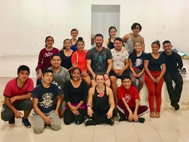 Guest Blog: Eryc Taylor Dance in Mexico - Day Two in the Yucatán