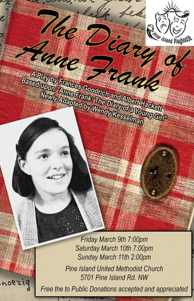BWW Review: THE DIARY OF ANNE FRANK at Pine Island Playhouse