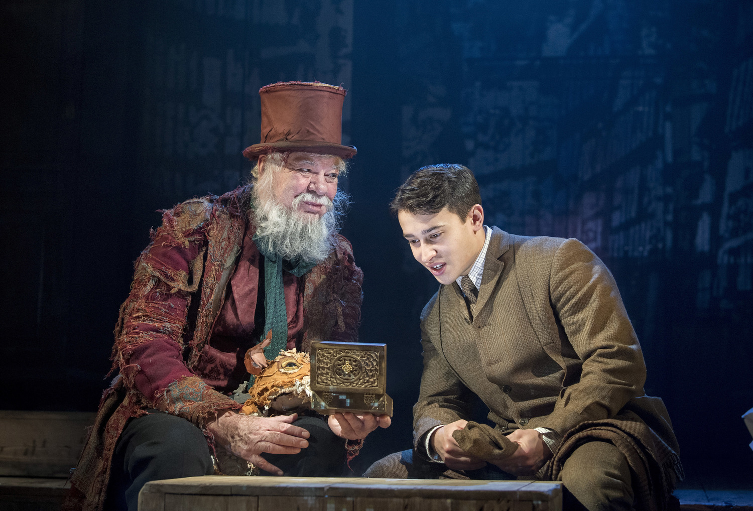 BWW Review: THE BOX OF DELIGHTS, Wilton's Music Hall