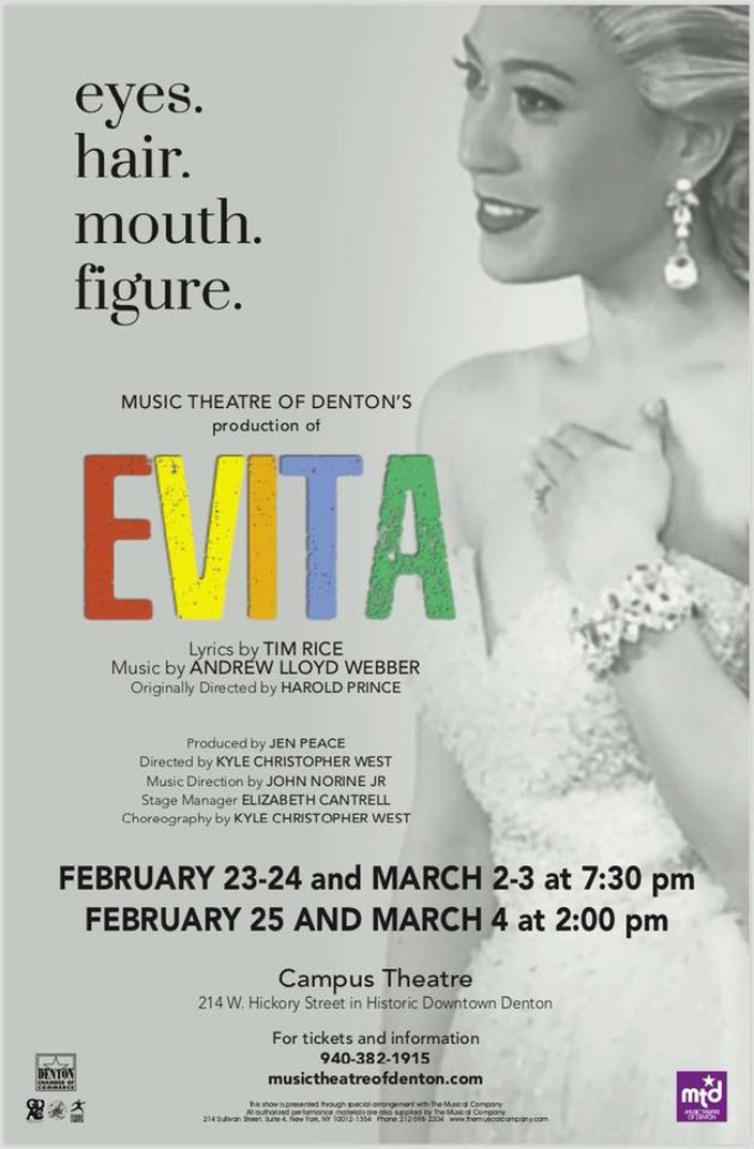 BWW Review: EVITA at MUSIC THEATRE OF DENTON
