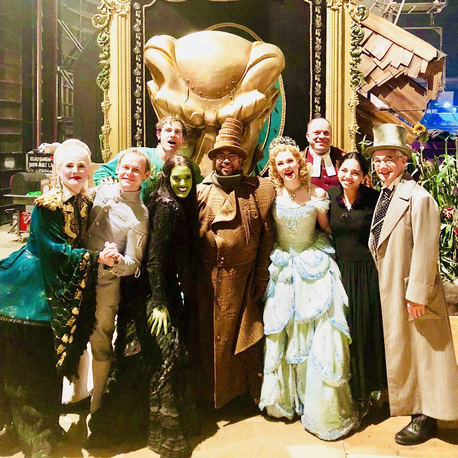 BWW Feature: WICKED National Tour at Detroit Opera House Raises Over $25,000 for Open Hands Food Pantry and BC/EFA