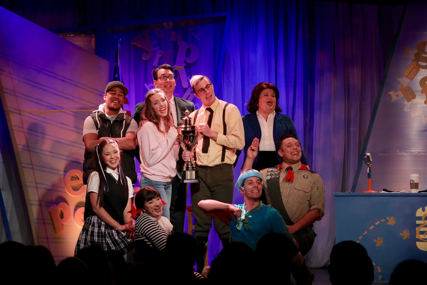 BWW Review: THE 25TH ANNUAL PUTNAM COUNTY SPELLING BEE at The Abbey is a R-I-O-T