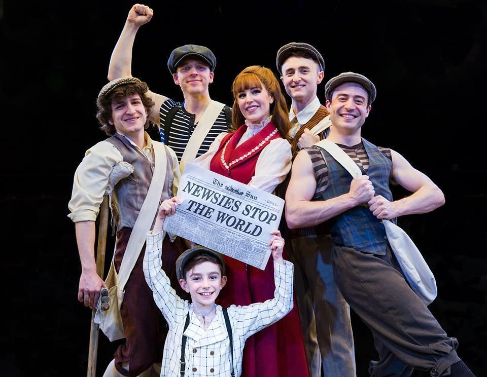 BWW Review: NEWSIES at Derby Dinner Playhouse