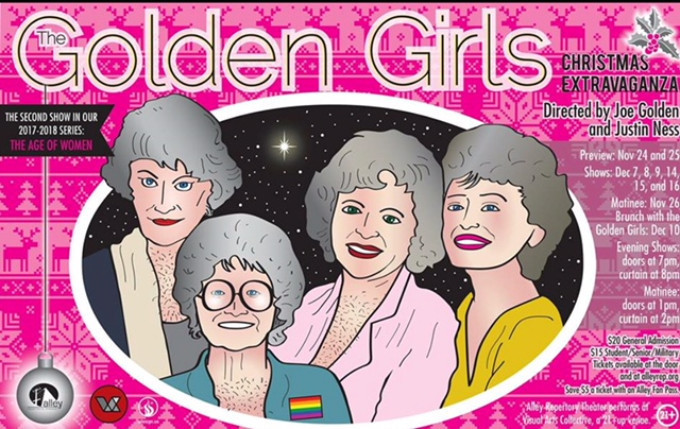 BWW Review: GOLDEN GIRLS CHRISTMAS EXTRAVAGANZA at Alley Repertory Theater