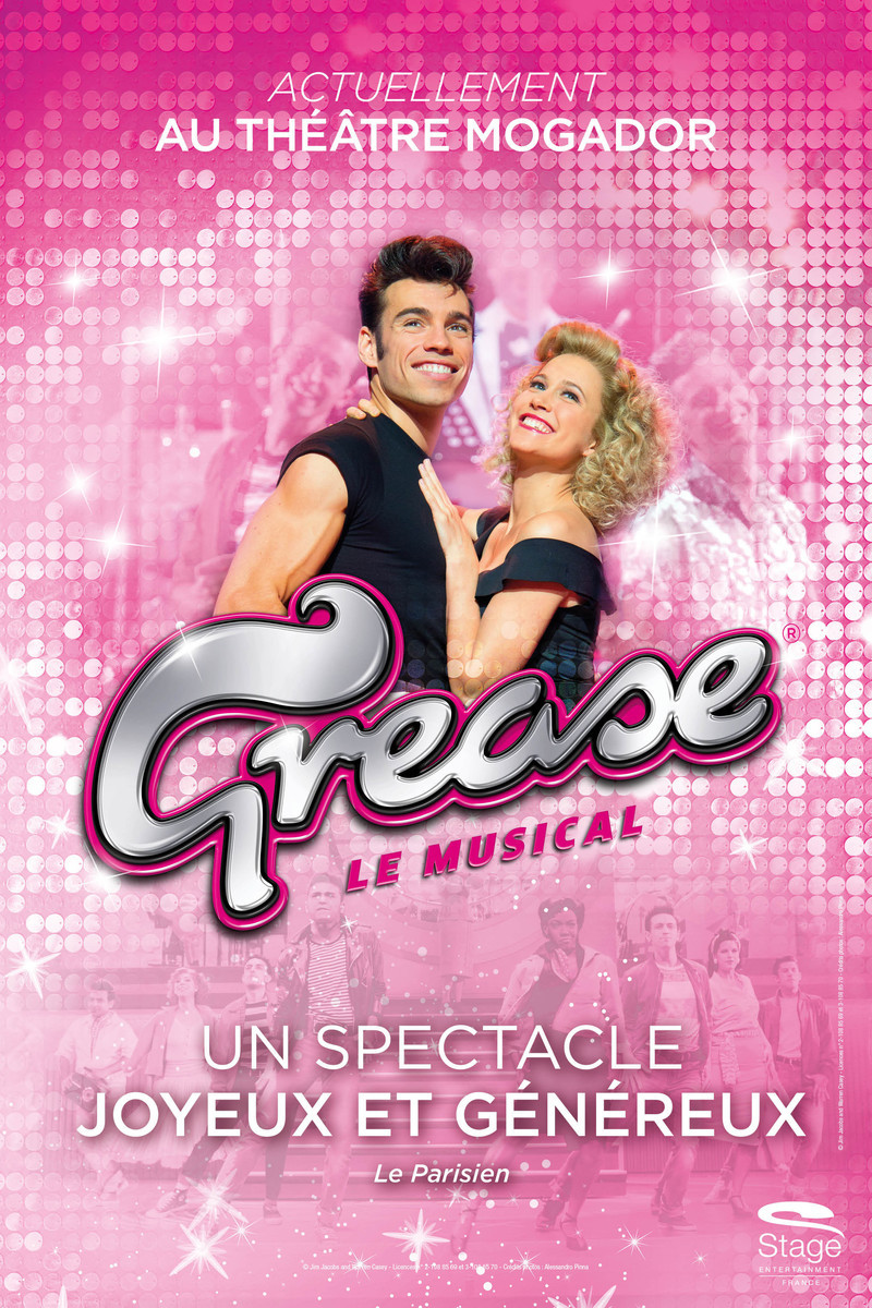 GREASE Continues At Théâtre Mogador Through 7/8