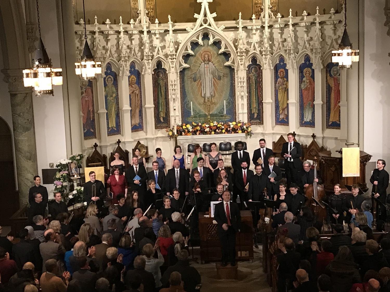 BWW Review: B MINOR MASS BY JOHANN SEBASTIAN BACH at Church Of The Holy Trinity