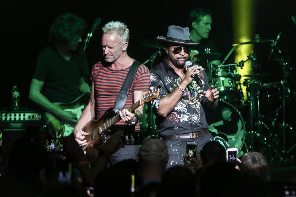 BWW Review: STING AND SHAGGY, Roundhouse