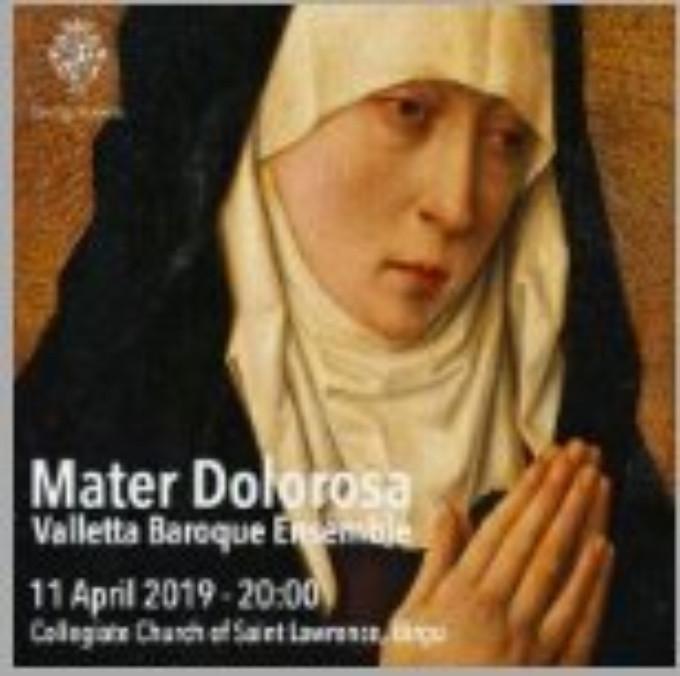 VIBE CONCERT: MATER DOLOROSA Comes to Teatru Manoel 4/11
