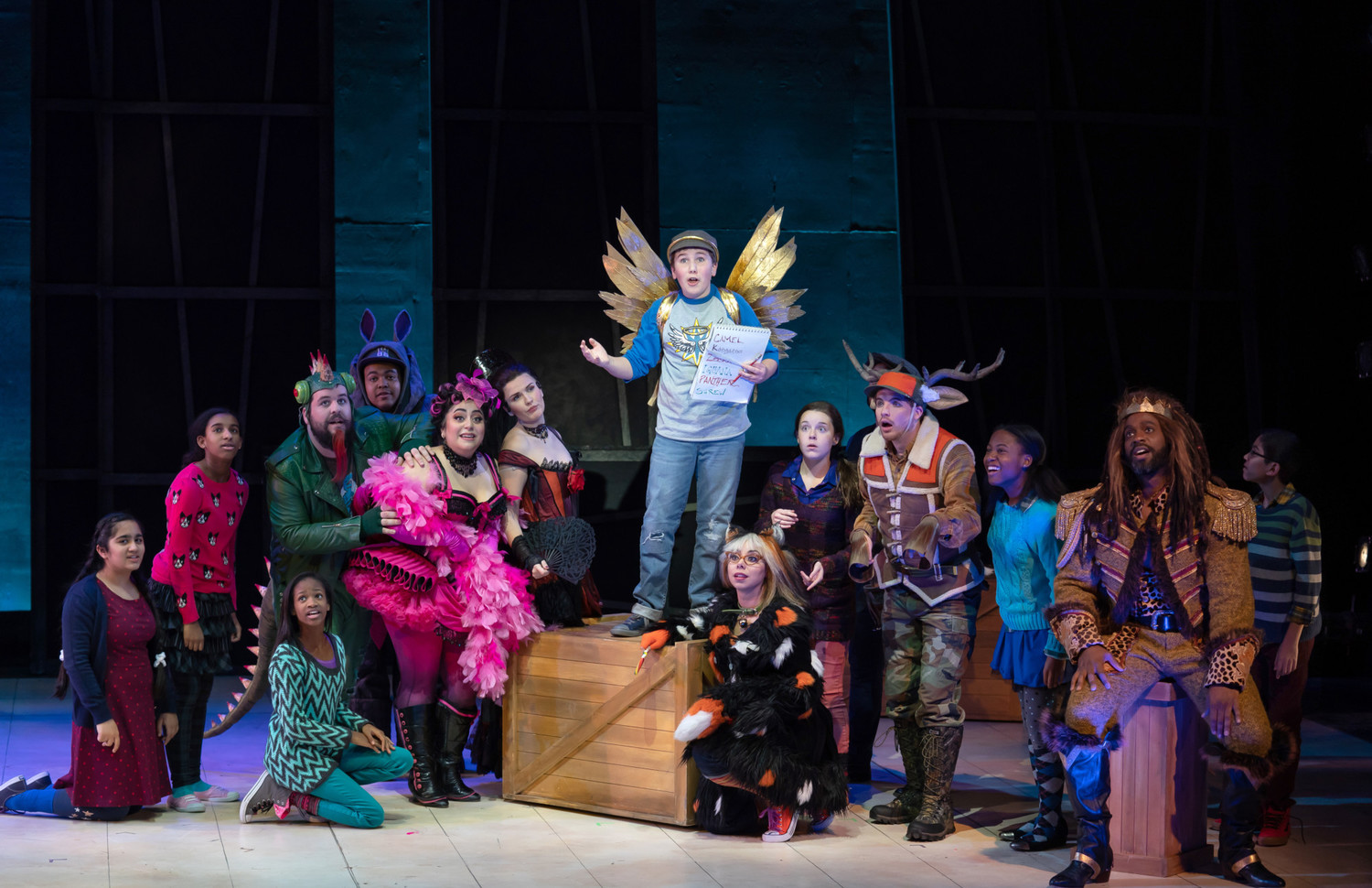 BWW Review: THE LION, THE UNICORN, AND ME at The Kennedy Center