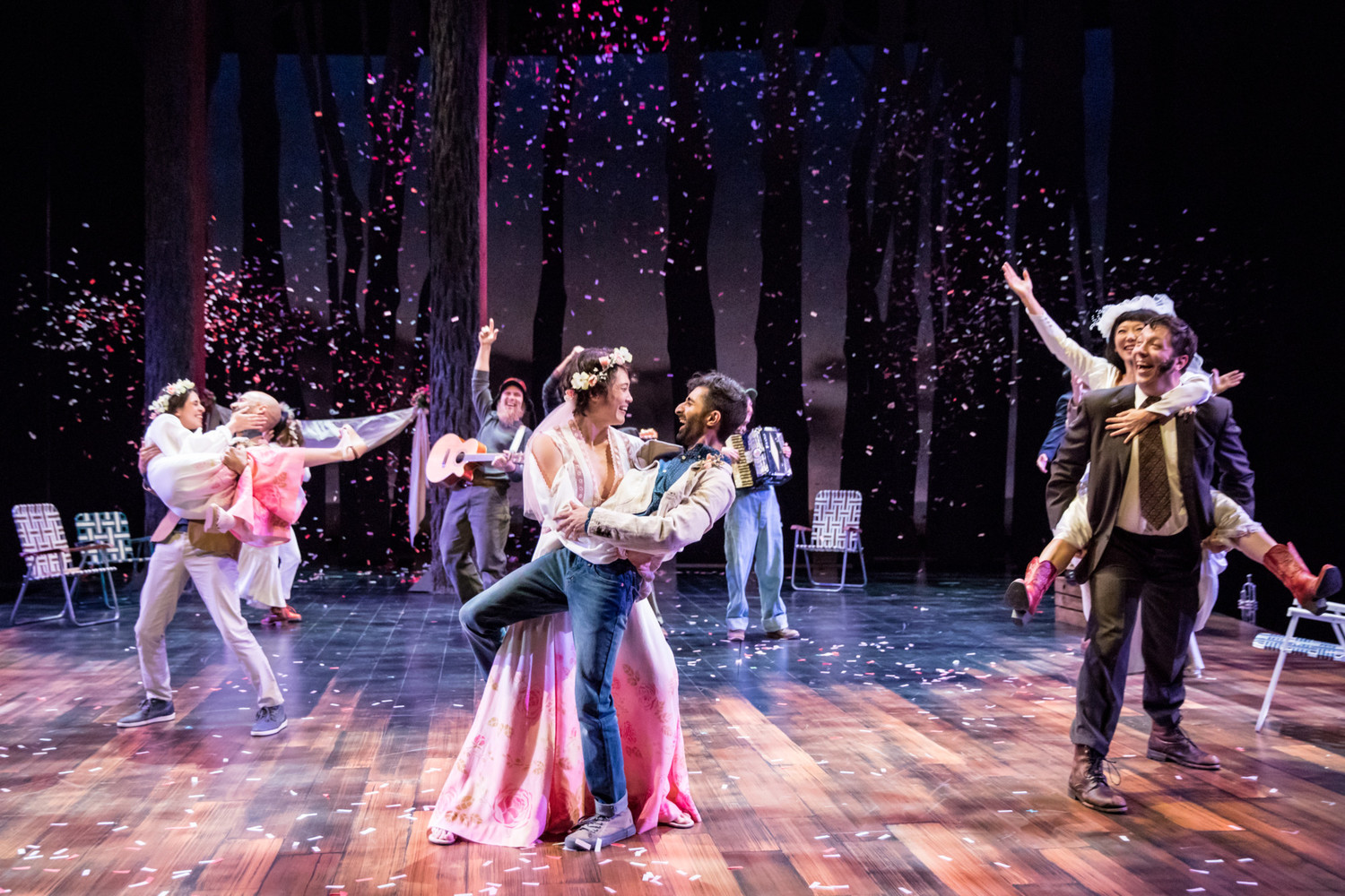 BWW Review: Guthrie's AS YOU LIKE IT Promises Hip Hop Lovers' Trysts in the Forest