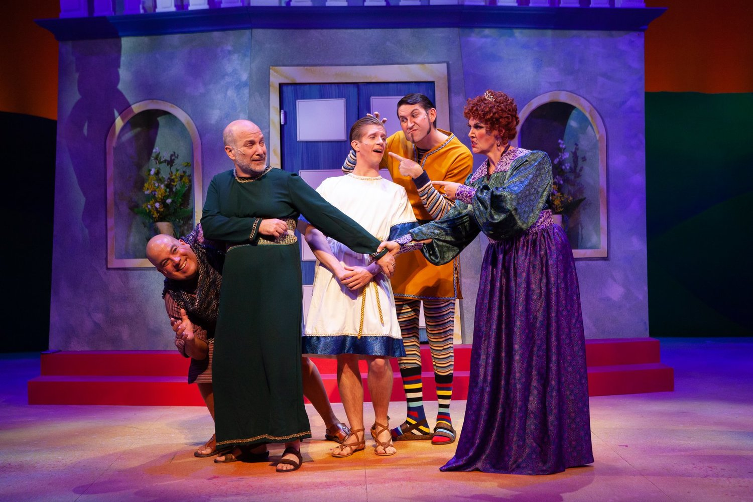 BWW Review: A FUNNY THING HAPPENED ON THE WAY TO THE FORUM at TheaterWorks - Sondheim Strikes Again in Peoria!