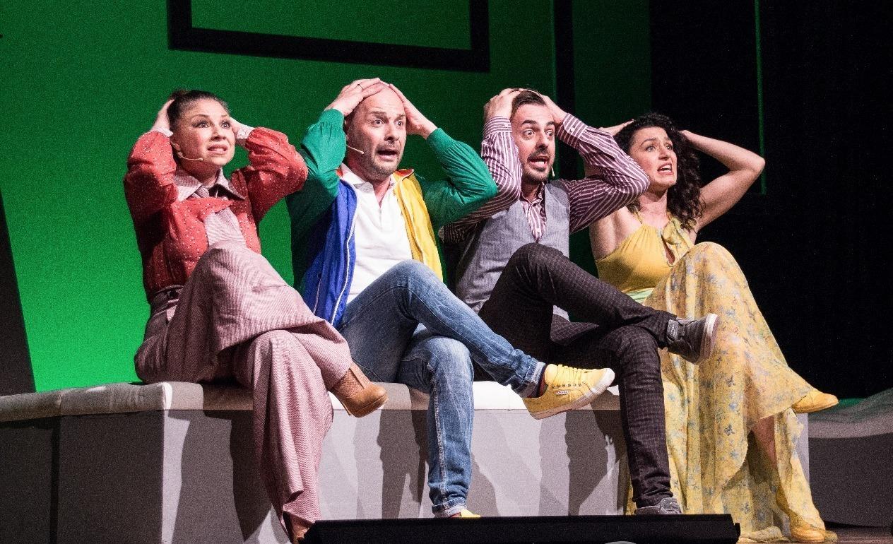 BWW Review: DOMANI TI SPOSO ... DOMANI TI LASCIO! TOMORROW MORNING                                  -- OVVERO IL DIVORZIO INIZIA CON IL MATRIMONIO!   Al Teatro Roma