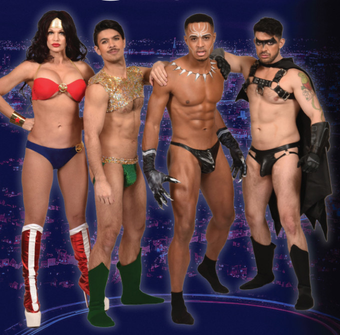 BWW Review: BROADWAY BARES / SAN FRANCISCO STRIPS IV : COMIC STRIPS at DNA Lounge is the 4th annual Richmond Ermet Aid Foundation benefit Burlesque-style strip show.