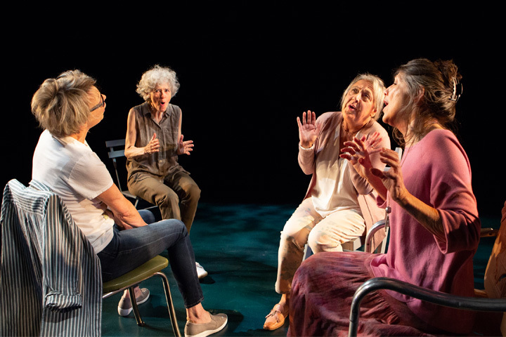 BWW Review: ESCAPED ALONE's Cast is the Welcome Light in a Dark Story
