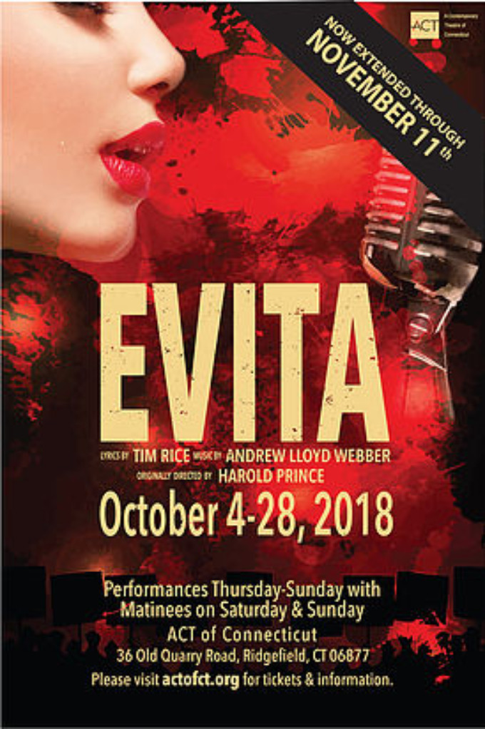 BWW Review: EVITA at ACT Of Connecticut