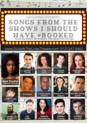 NY Actors Sing Songs From Shows They Didn't Book