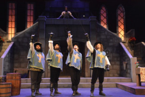West Coast Premiere Of THE THREE MUSKETEERS Brings Fun For All To Norris Theatre Stage