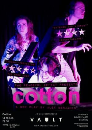 COTTON Comes to VAULT Festival