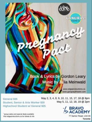 PREGNANCY PACT The Musical Coming To Toronto This May