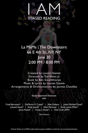 I AM, A Play With Music, To Hold Its Premier Showcase At La MaMa