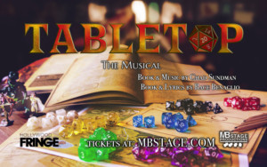 TABLETOP A NEW MUSICAL Announces Cast and Workshop Performances