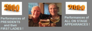 Veteran Performers Willam And Sue Wills Reach 9,000 Performances