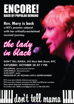 Rev. Mary Returns To Don't Tell Mama