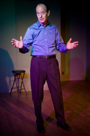 Award-Winning One-Man Play THE ACTUAL DANCE Comes To The Writer's Center