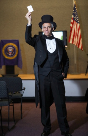 WHO IS JAMES K. POLK? Starring Neal Mayer To Perform In New Jersey