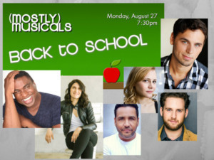 (mostly)musicals Goes BACK TO SCHOOL At Upstairs At Vitello's