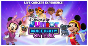 DISNEY JUNIOR DANCE PARTY TOUR Coming to Atlanta This Spring