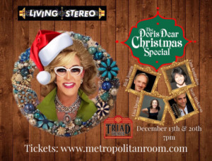A DORIS DEAR CHRISTMAS SPECIAL Comes to the Metropolitan Room This Holiday Season