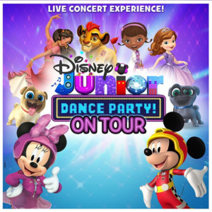 DISNEY JUNIOR DANCE PARTY Stops at the Orpheum in May