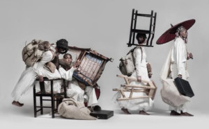 Times Square Arts and Performa present Mohau Modisakeng's ZION