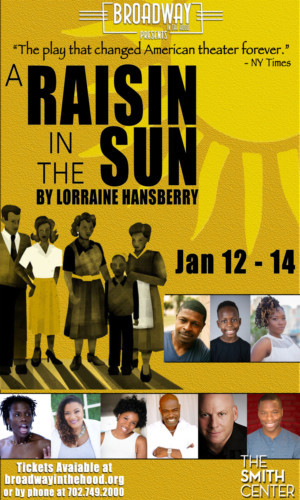 A RAISIN IN THE SUN to make it's Las Vegas Debut January 2018 at The Smith Center
