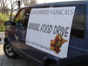 Goodspeed's Annual Food Drive Kicks Off With BOGO Deal for Both Theaters